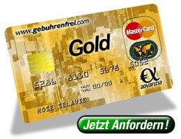 MasterCard Gold Kreditkarte